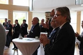 Applaus von Unternehmern©Wirtschaftsförderung im Landkreis Nienburg/Weser GmbH