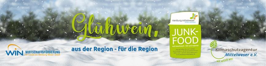 Banner Glühwein groß©Wirtschaftsförderung im Landkreis Nienburg/Weser GmbH
