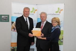 """Bremskerl als Botschafter """"einfach lebenswert""""©Wirtschaftsförderung im Landkreis Nienburg/Weser GmbH"""