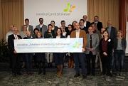 Die Teilnehmerinnen und Teilnehmer des Partnertreffens der Imagekampagne 2017