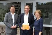 """Firma F.Wesling als Botschafter der Kampagne """"Einfach-lebenswert""""©Landkreis Nienburg/Weser"""