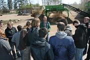 HAWK Exkursion bei der Raiffeisen Agil Leese eG©Wirtschaftsförderung im Landkreis Nienburg/Weser GmbH