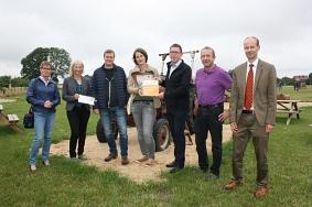 Hof Claus ist neuer Botschafter©Wirtschaftsförderung im Landkreis Nienburg/Weser GmbH
