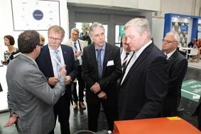 Landwermann mit Althusmann©Landkreis Wirtschaftsförderung im Landkreis Nienburg/Weser GmbH
