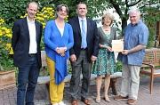 Lebensgarten Steyerberg als Botschafter September 2015