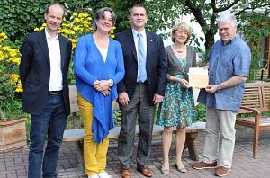 Lebensgarten Steyerberg als Botschafter September 2015©Landkreis Nienburg/Weser