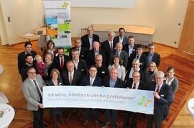 """Partner der Initiative """"Arbeiten in nienburg.mittelweser""""©Wirtschaftsförderung im Landkreis Nienburg/Weser GmbH"""