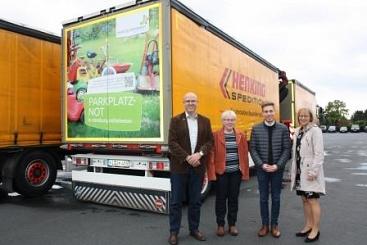 Spedition Henking als neuer Botschafter©Wirtschaftsförderung im Landkreis Nienburg/Weser GmbH