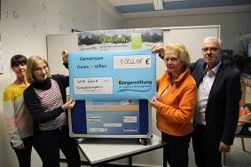 Spendenübergabe Bürgerstiftung©Wirtschaftsförderung im Landkreis Nienburg/Weser GmbH
