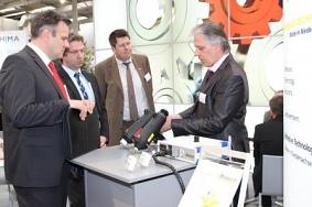 Vorführung und Erläuterung der eigenen Technik©Wirtschaftsförderung im Landkreis Nienburg/Weser GmbH