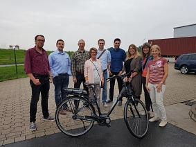 Wirtschaftsförderer zu Besuch bei Hartje©Wirtschaftsförderung im Landkreis Nienburg/Weser GmbH